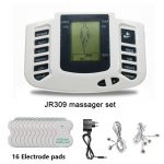 Health Care Electrical Muscle Stimulator Massageador Tens Acupuncture Therapy Machine Slimming Body Massager 16pcs pads
